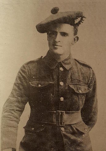 Portrait of Private Roy D. Harvey